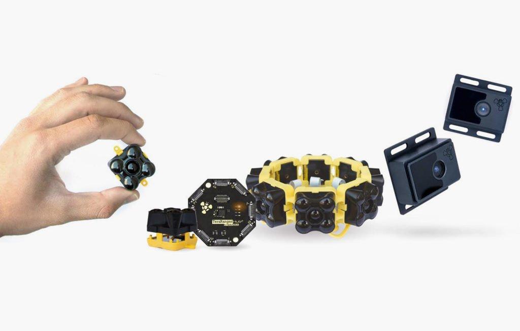 Distance Sensors Thermal Cameras 3d Depth Cameras Sensor Modules