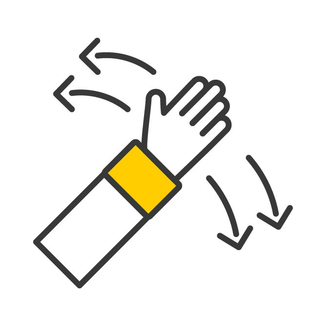Terabee Icons Hand Gesture Recognition