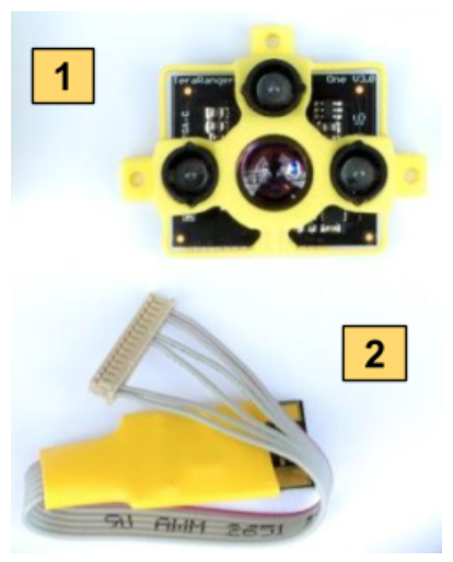 Connection to Pixhawk autopilots Teraranger One - Terabee