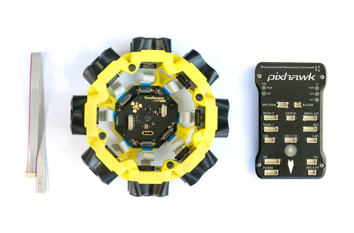 Connection to Pixhawk autopilots Teraranger Tower Evo - Terabee