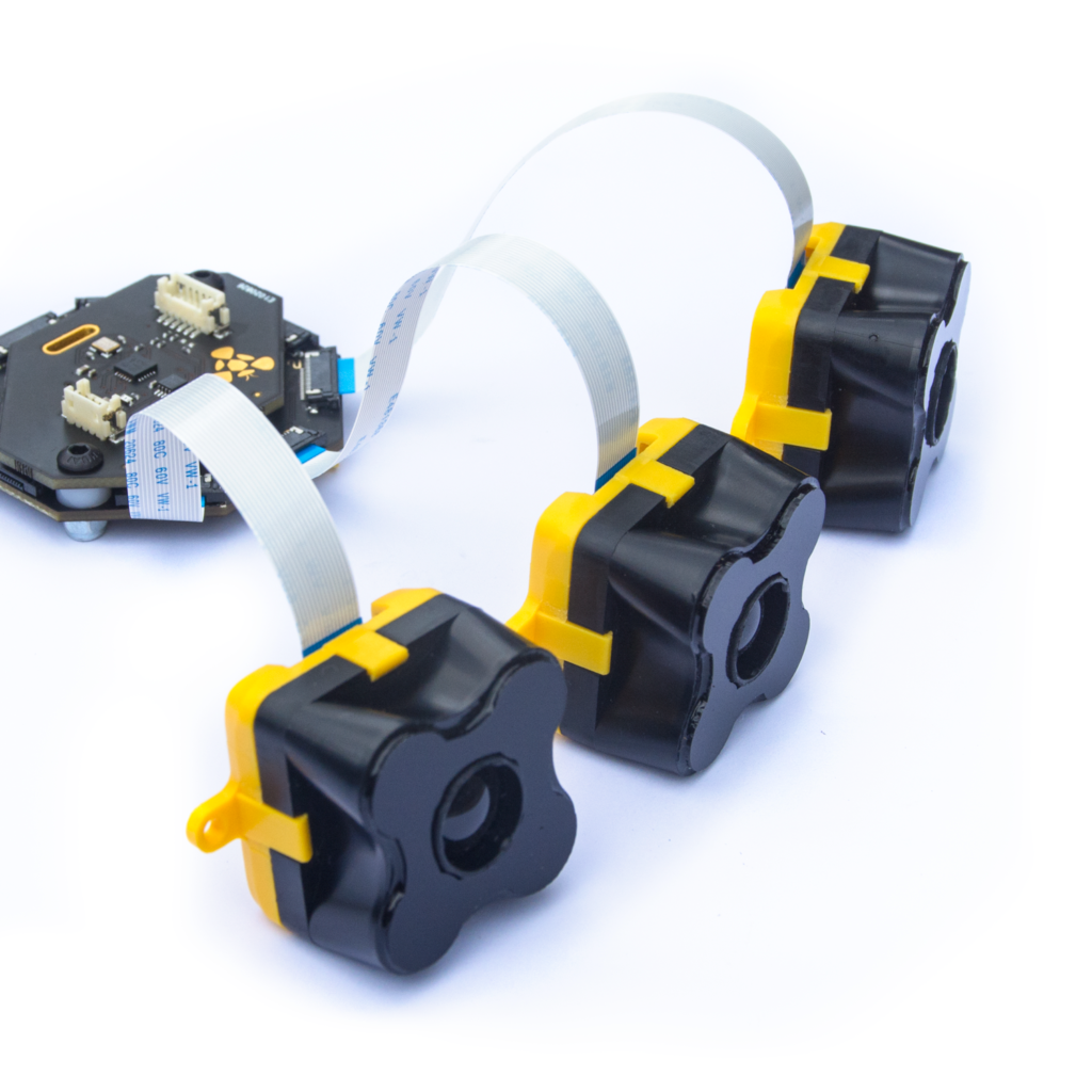 Multi sensor anti collision system for mobile robots